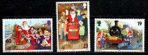 ISLE OF MAN 1994, Christmas  MNH  SET # 620-622