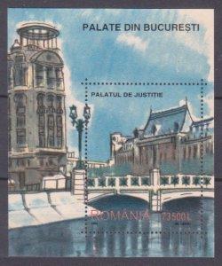 2003 Romania 5722/B327 Painting - Bucharest 6,00 €
