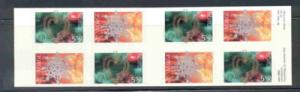 Norway Sc 1351b 2002 Christmas stamp booklet mint NH