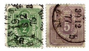 Germany SC#29-30 Used Fine...Worth a Close Look!