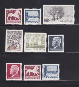 Sweden 955-962 MNH Various
