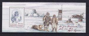 Greenland 2006, MNH S/SHEET ALFRED WEGENER # 475a