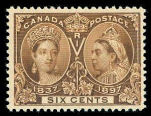 MOMEN: CANADA SC #55 JUBILEE MINT OG LH LOT #60636