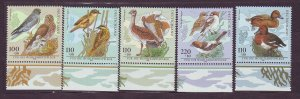J23321 JLstamps 1998 germany set mnh #b837-41 birds