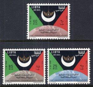 Libya C58-C60 MNH VF