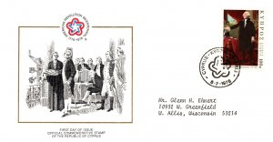 Cyprus, Americana, Worldwide First Day Cover
