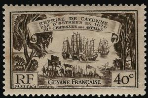 French Guiana #156 VF hr $5.75...Make me an Offer!