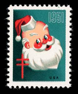 WX Christmas Seal Mint (NH) 1951