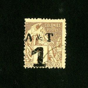 Annam & Tonkin Stamps # 1 Fresh Used Catalog Value $50.00