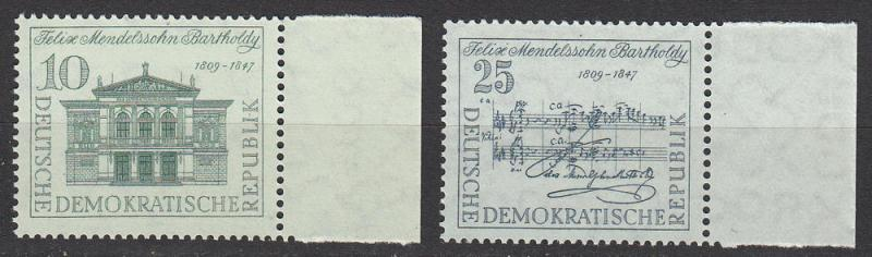 East Germany - 1959 F.Mendelsohn, composer - MNH (2723)