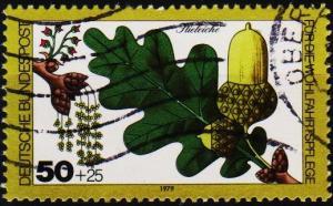 Germany. 1979 50pf+25pf S.G.1906 Fine Used