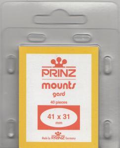 PRINZ 41X31 (40) BLACK MOUNTS RETAIL PRICE $3.99