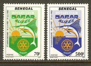 Senegal #603-4 NH Rotary