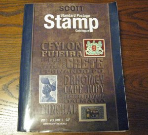 2015 Scott Stamp Catalogue Countries C-F
