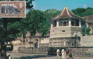 MXC4) 1960, Sri Lanka, CP33, Temple of the Tooth of Lord Buddha Ceylon
