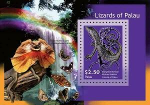 Palau - Lizards -  Souvenir Sheet - PAL1134S