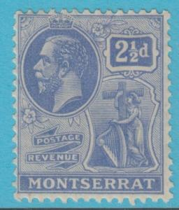 MONTSERRAT 62  NO FAULTS MINT HINGED OG EXTRA FINE !