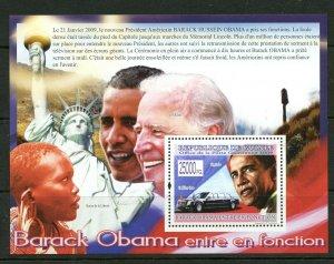 Guinea MNH S/S Barack Obama & Joe Biden 2009