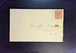 Canada 1911 Chippawa Ontario Cover to Michigan - Z1372