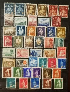 CROATIA Stamp Lot MH Mint Hinged Unused T8180