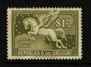 Uruguay SC# C53 Mint Hinged / Toned Gum - S11966