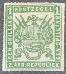 DYNAMITE Stamps: Transvaal Scott #18  – UNUSED
