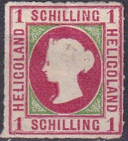 Heligoland #2 Unused CV $190.00  (Z3050)
