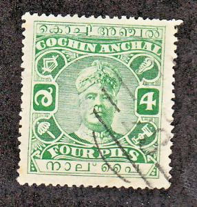 India Cochin Scott #24 Used