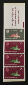 Netherlands Antilles 1977 #401a Booklet, St. Eustatius, MNH.