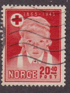 Norway # B 42, Used, 1/2 cat.