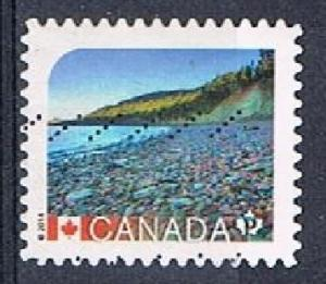 CANADA 170334 - 2014 NVI UNESCO World Heritage Sites used sa booklet single