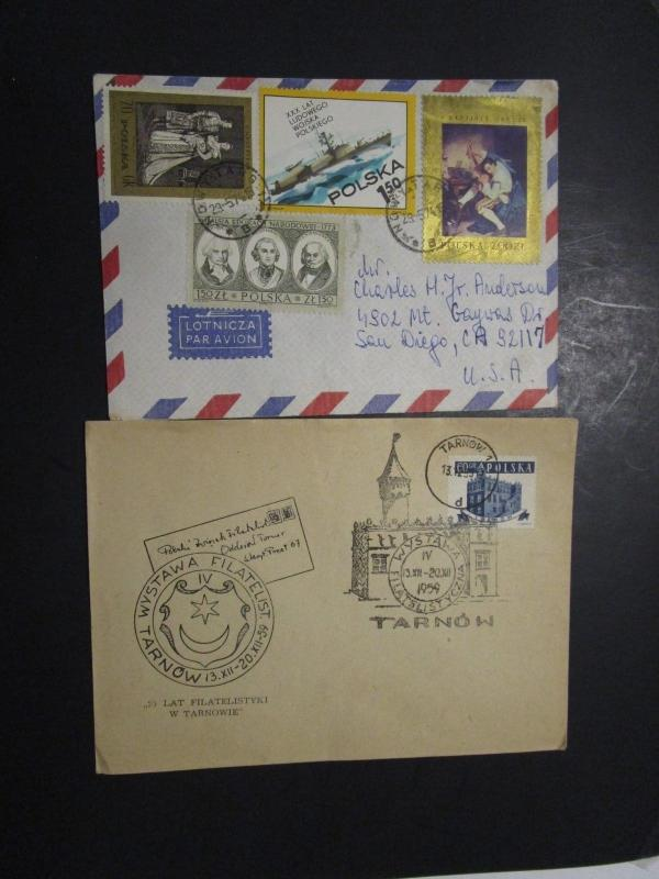 Poland 4 Older Covers / Including 2 Event Covers - M69