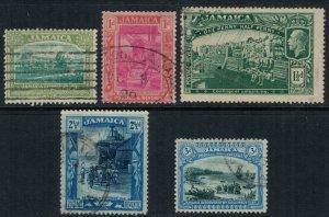 Jamaica #75-7,9-80  CV $8.60