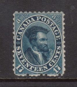 Canada #19a VF Mint **With Certificate**