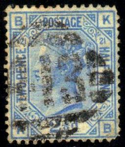 GREAT BRITAIN SC# 68 **USED** 1876-80  QUEEN VICTORIA  SEE SCAN