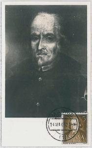 37217  MAXIMUM CARD - SPAIN : LITTERATURE - Pedro Calderón de la Barca 1952