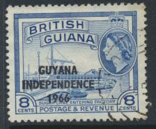 Guyana Independence 1966 SG 382 Used