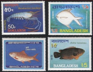 1983 Bangladesh 190-193 Sea fauna 11,00 €