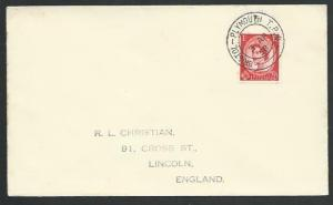 GB 1958 cover BRISTOL - PLYMOUTH TPO railway cds...........................53341