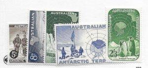 Australia #L1-L5 MH - Stamp - CAT VALUE $9.75