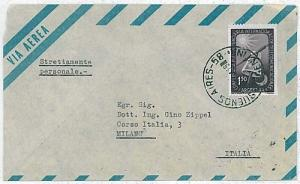 ARGENTINA - POSTAL HISTORY: COVER to ITALY 1954