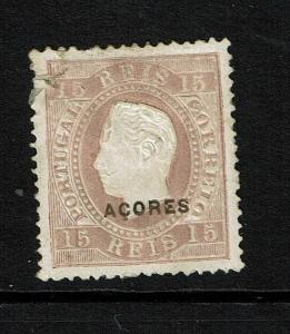 Azores SC# 47, Mint Hinged, Hinge Remnants, perf 13.5, see notes - S8296