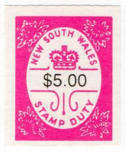 (I.B) Australia - NSW Revenue : Stamp Duty $5