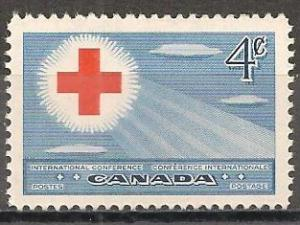 Canada #317 Mint Never Hinged F-VF (ST293)