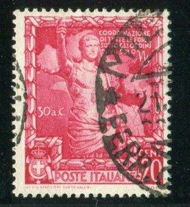D259620 Italy VFU Sc. 401 Augustus Caesar 20c
