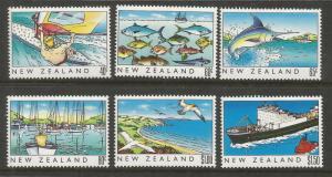 NEW ZEALAND  964-969  MNH   HERITAGE SET 1989