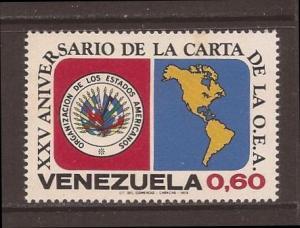 Venezuela scott #1031 m/nh stock #30834