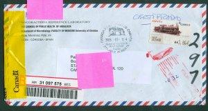 Spain. Cover 2005 Registered. Health, Dep. Microbiology. Custom Seal. Redir. USA