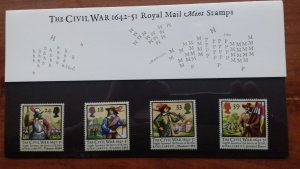 1992 The 350th Anniversary of the English Civil War Mint