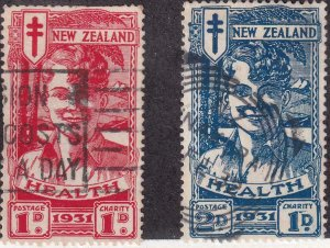 New Zealand 1931 SC B3-B4 Used